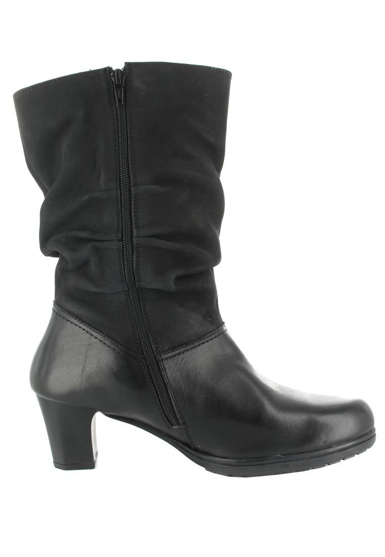 SALE - PIAZZA - Damen Stiefel - Schwarz Schuhe in Übergrößen – Bild 6