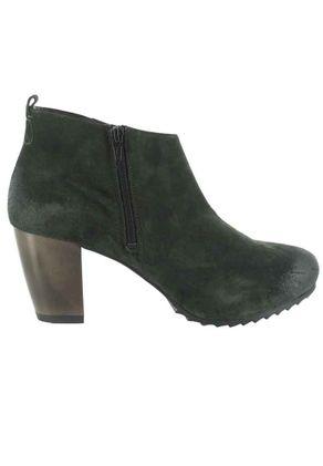 SALE - HÖGL - Damen Ankle Boots - Dunkelgrün Schuhe in Übergrößen – Bild 6