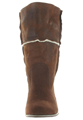 SALE - ANDRES MACHADO - Damen Stiefel - Braun Schuhe in Übergrößen – Bild 4