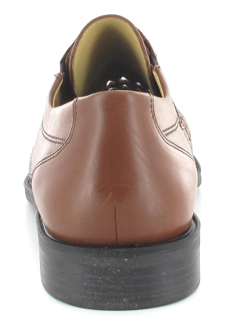 SALE - FRETZ MEN - Herren Business Schuhe - Braun Schuhe in Übergrößen – Bild 2