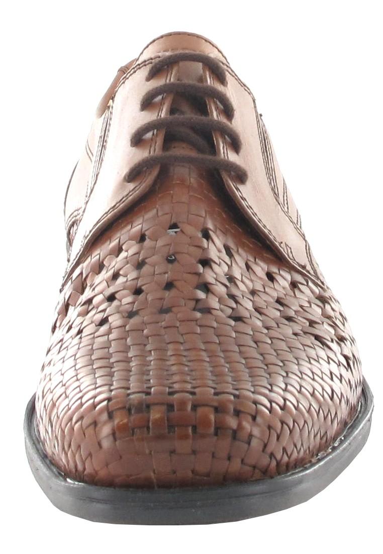 SALE - FRETZ MEN - Herren Business Schuhe - Braun Schuhe in Übergrößen – Bild 4