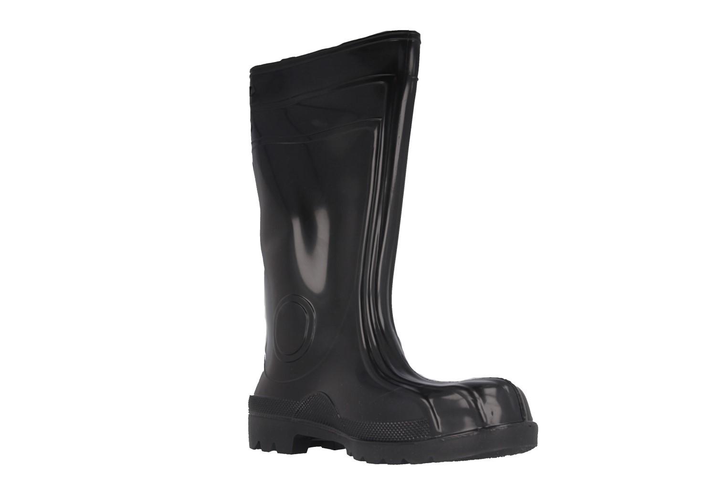 EUROFORT - Herren Sicherheits Baustiefel Gummistiefel S5 - Schwarz Schuhe in Übergrößen – Bild 6