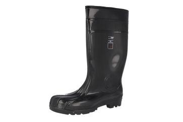EUROFORT - Herren Sicherheits Baustiefel Gummistiefel S5 - Schwarz Schuhe in Übergrößen – Bild 1