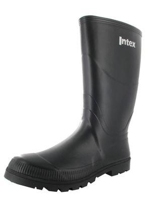 INTEX Feld - Herren Kautschuk-Gummistiefel Feld - Schwarz Schuhe in Übergrößen – Bild 1