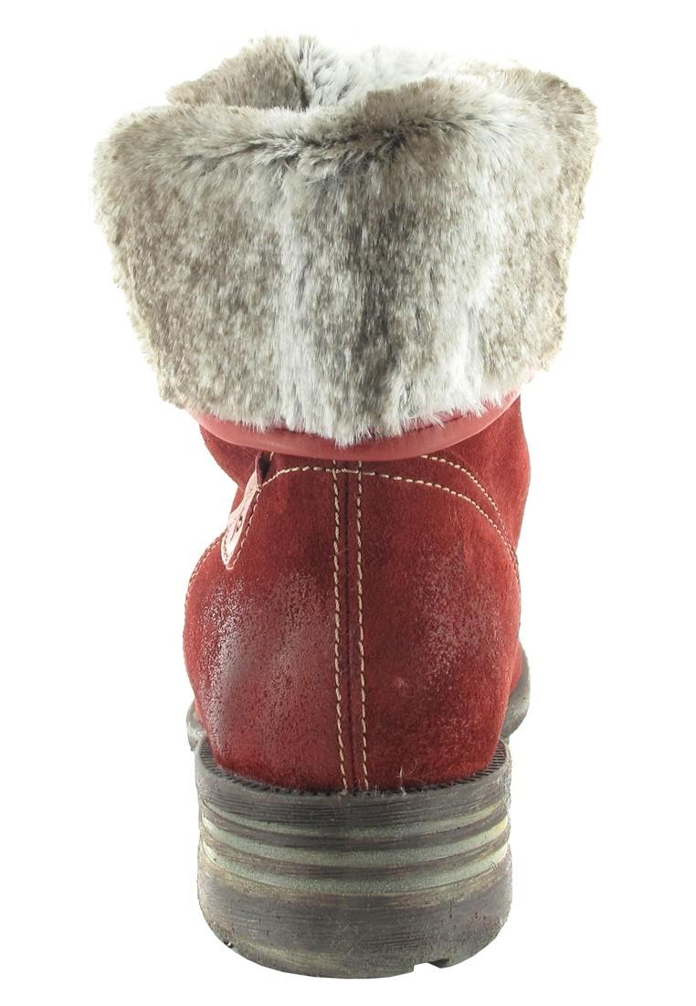 Josef Seibel Stiefel in Übergrößen Rot 93688 PL949 388 große Damenschuhe – Bild 2