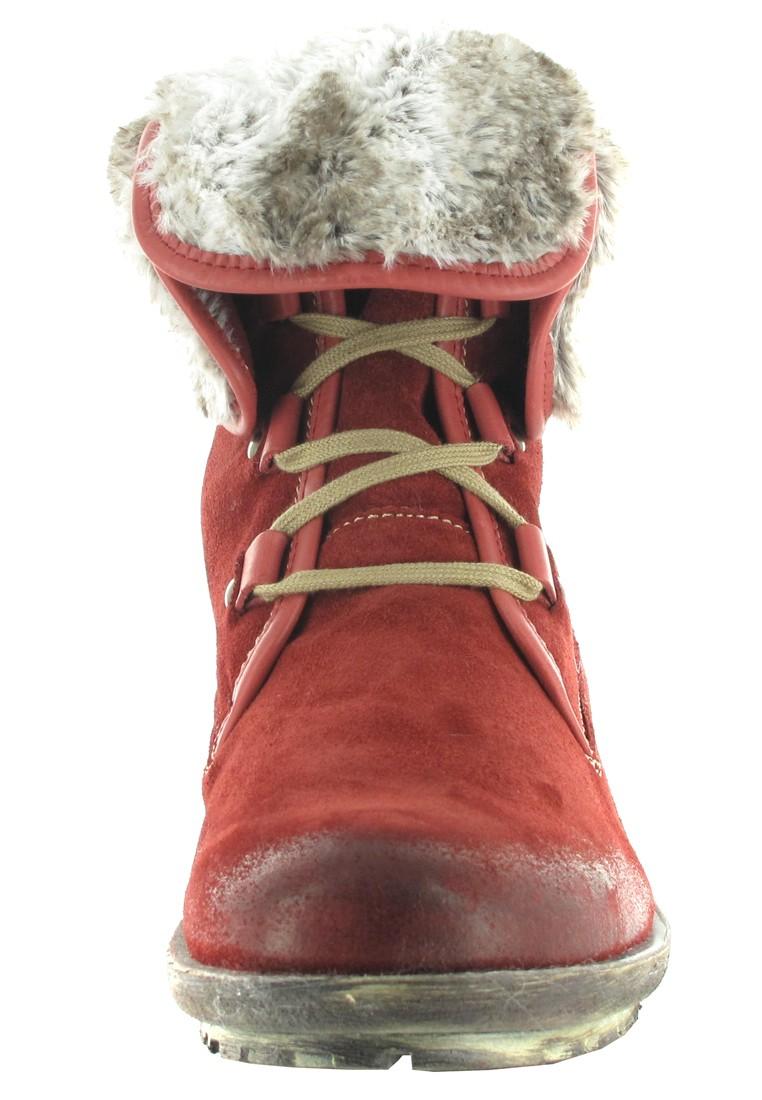Josef Seibel Stiefel in Übergrößen Rot 93688 PL949 388 große Damenschuhe – Bild 4