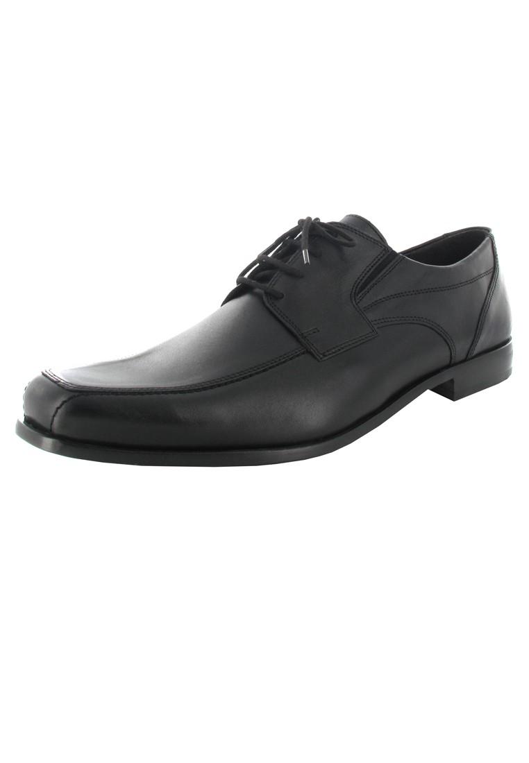 FRETZ MEN - Herren Business Schuhe - Schwarz Schuhe in Übergrößen – Bild 1