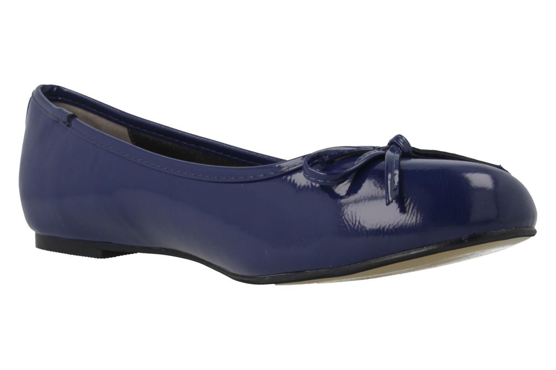ANDRES MACHADO - Damen Ballerinas - Lack Blau Schuhe in Übergrößen – Bild 4