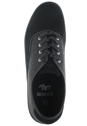 Boras Sneaker in Übergrößen Schwarz 3451-0001 große Herrenschuhe – Bild 7