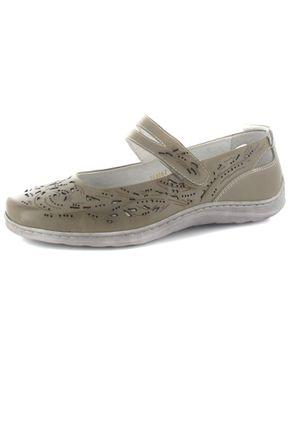 SALE - ROMIKA - Helena 04 - Damen Spangenballerinas - Grau Schuhe in Übergrößen