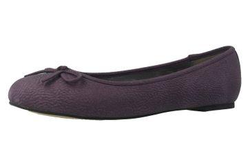 ANDRES MACHADO - Damen Ballerinas - Lila Schuhe in Übergrößen – Bild 1