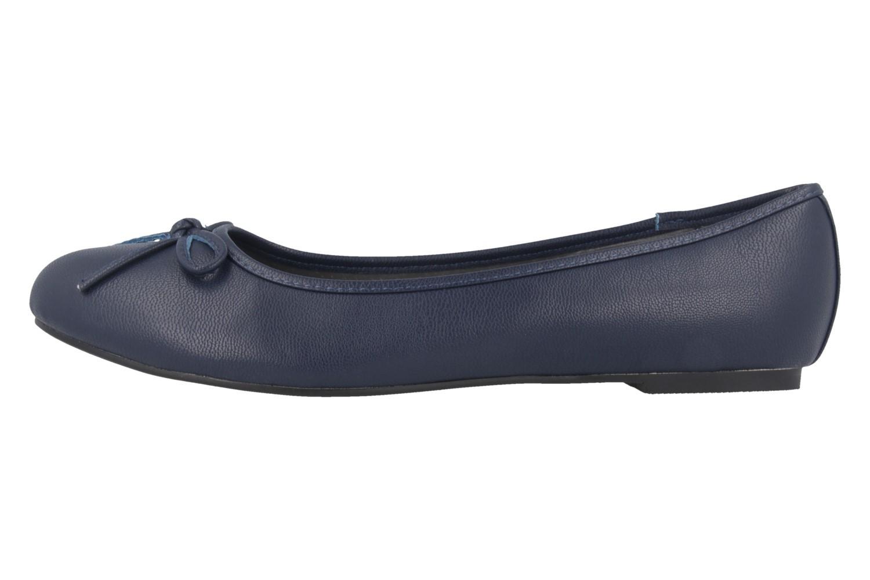 ANDRES MACHADO - Damen Ballerinas - Blau Schuhe in Übergrößen – Bild 2