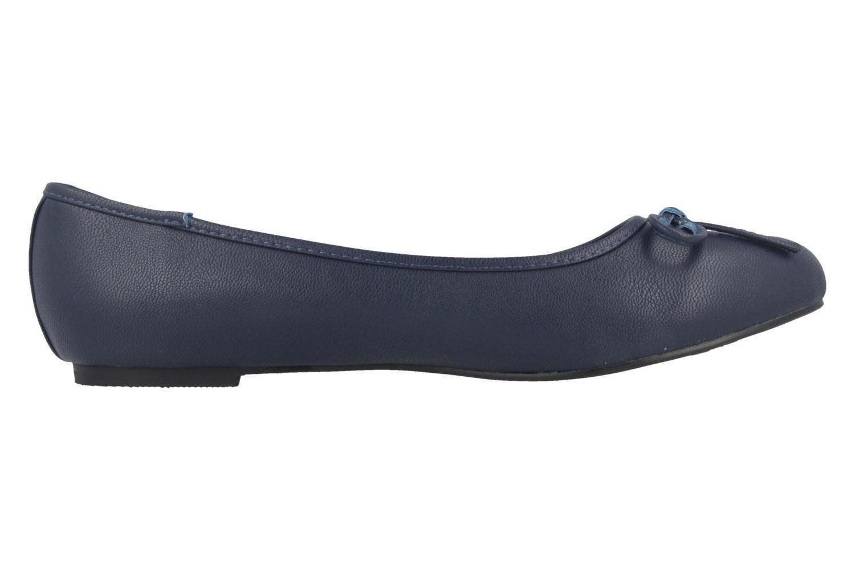 Andres Machado Ballerinas in Übergrößen Blau TG104 Soft Marino New große Damenschuhe – Bild 3