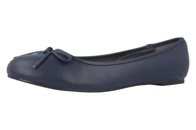 ANDRES MACHADO - Damen Ballerinas - Blau Schuhe in Übergrößen – Bild 1