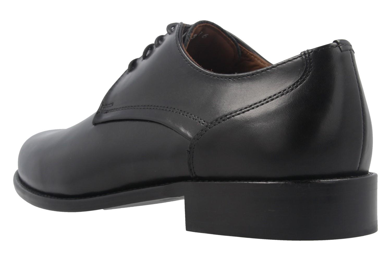 MANZ - Herren Business Schuhe - Schwarz Schuhe in Übergrößen – Bild 2