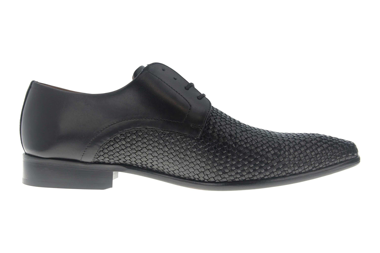 SALE - MANZ - Herren Business Schuhe - Schwarz Schuhe in Übergrößen 155002-02-001 – Bild 4
