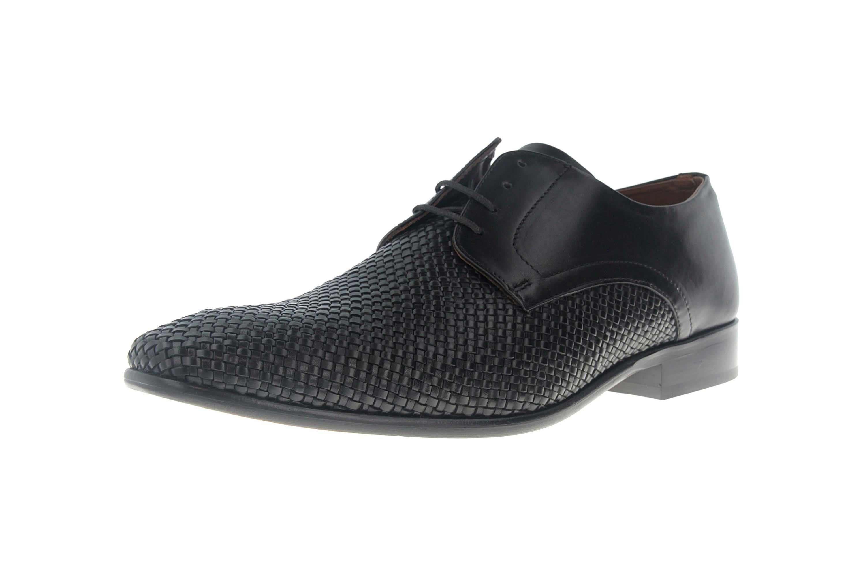 SALE - MANZ - Herren Business Schuhe - Schwarz Schuhe in Übergrößen 155002-02-001 – Bild 6