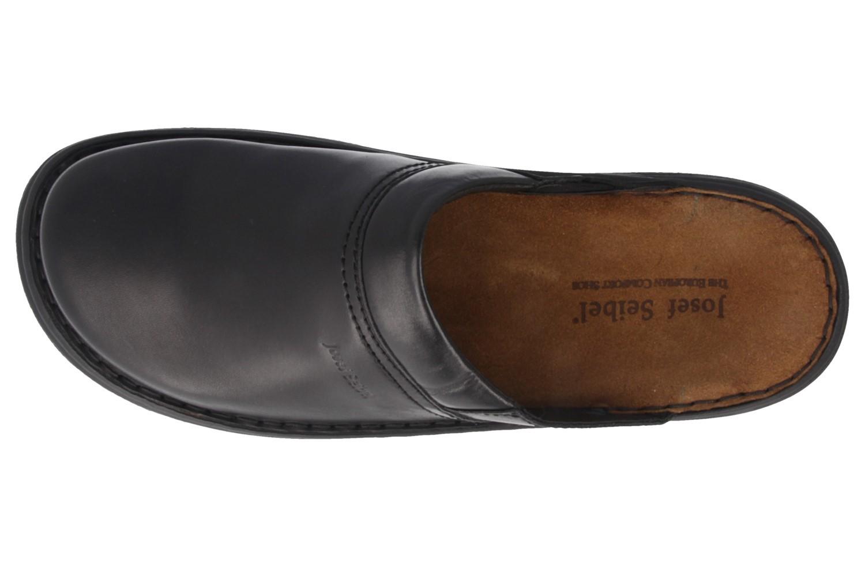 JOSEF SEIBEL - Max - Herren Hausschuhe - Schwarz Schuhe in Übergrößen – Bild 4