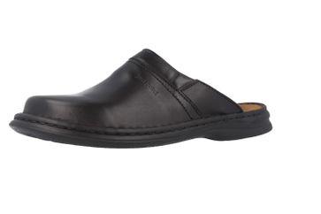 JOSEF SEIBEL - Max - Herren Hausschuhe - Schwarz Schuhe in Übergrößen – Bild 1