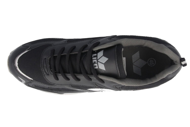 LICO - Nelson - Herren Sportschuhe - Schwarz Schuhe in Übergrößen – Bild 4