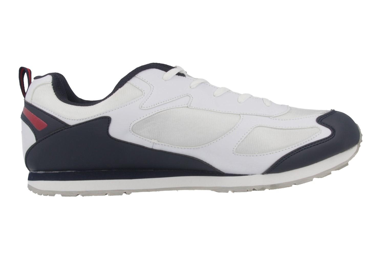 Lico Sportschuhe in Übergrößen Weiß 110082 / 110078 große Herrenschuhe – Bild 3