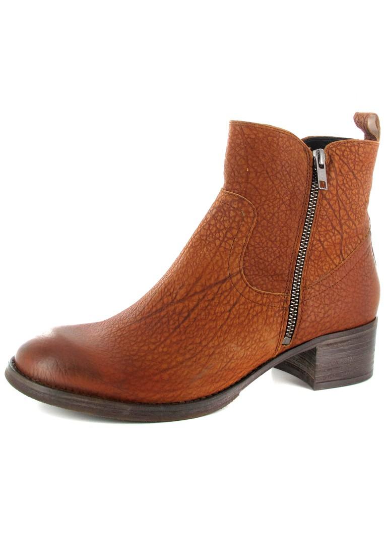 SALE - FIDJI - Damen Stiefeletten - Braun Schuhe in Übergrößen – Bild 1