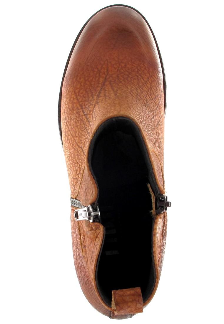 Fidji Stiefeletten in Übergrößen Braun P02 L833 008 große Damenschuhe – Bild 7