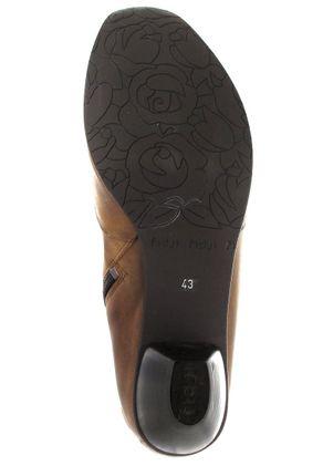 Fidji Stiefeletten in Übergrößen Braun P02 G546 016 große Damenschuhe – Bild 3
