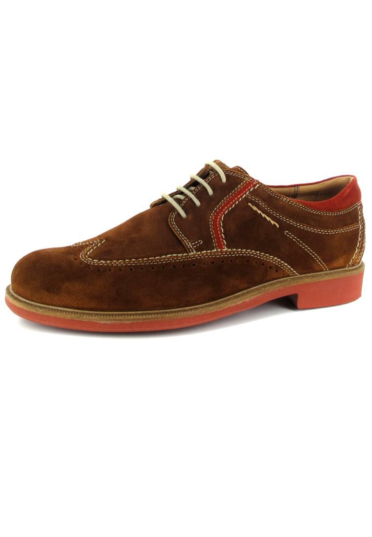 SIOUX - Gregorius - Herren Halbschuhe - Braun Schuhe Günstig Sale – Bild 1