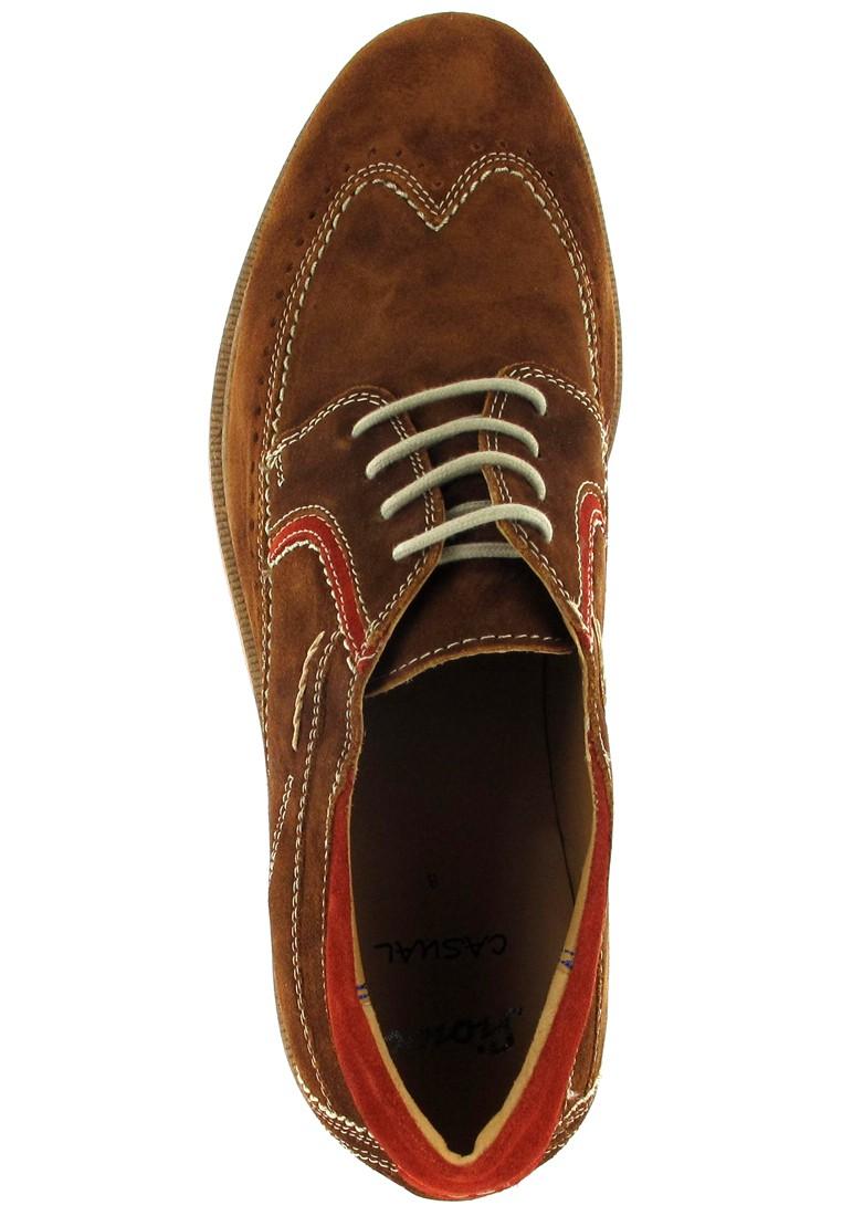 SIOUX - Gregorius - Herren Halbschuhe - Braun Schuhe Günstig Sale – Bild 7