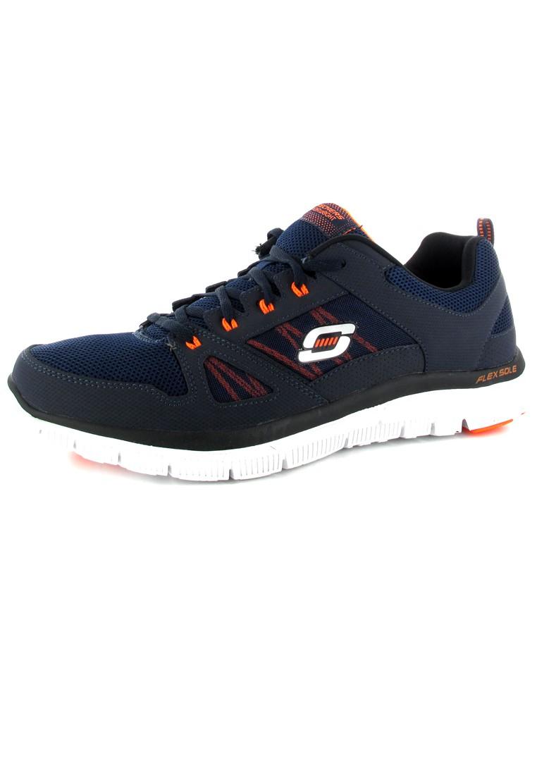 SKECHERS - Flex Advantage - Herren Sneaker - Blau Schuhe in Übergrößen – Bild 1