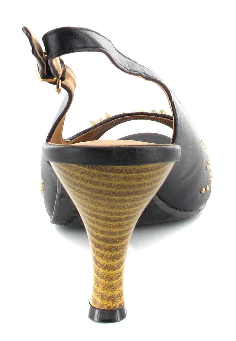 Andres Machado Pumps in Übergrößen Schwarz AM522 Pinchos Negro große Damenschuhe – Bild 2