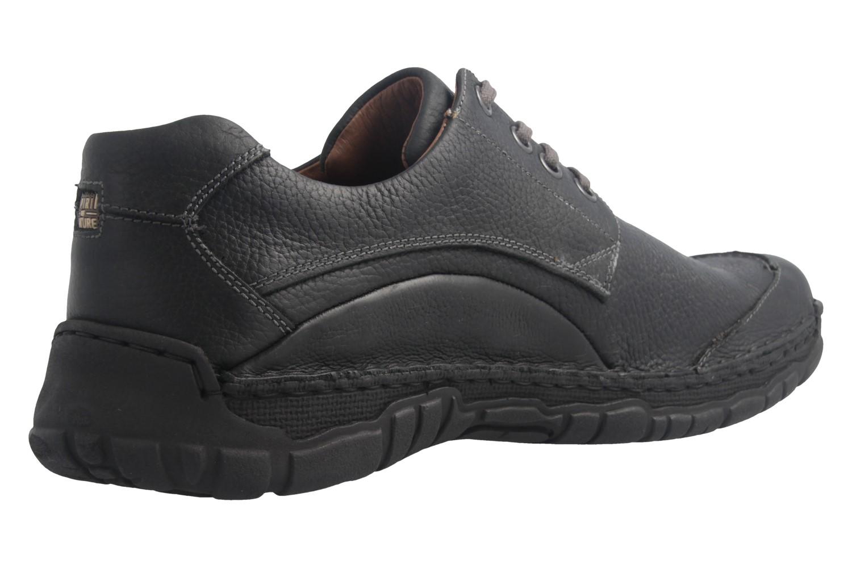 JOSEF SEIBEL - Kongo - Herren Halbschuhe - Schwarz Schuhe in Übergrößen – Bild 3