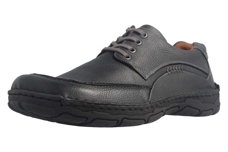 JOSEF SEIBEL - Kongo - Herren Halbschuhe - Schwarz Schuhe in Übergrößen – Bild 1