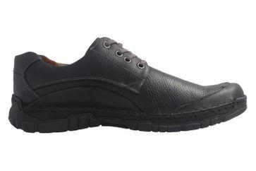JOSEF SEIBEL - Kongo - Herren Halbschuhe - Schwarz Schuhe in Übergrößen – Bild 4