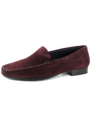 SALE - SIOUX - Campina-HW - Damen Mokassin - Rot Schuhe in Übergrößen – Bild 1
