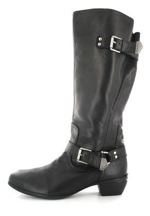 SALE - ROMIKA - Anna 11 - Damen Stiefel - Schwarz Schuhe in Übergrößen – Bild 5