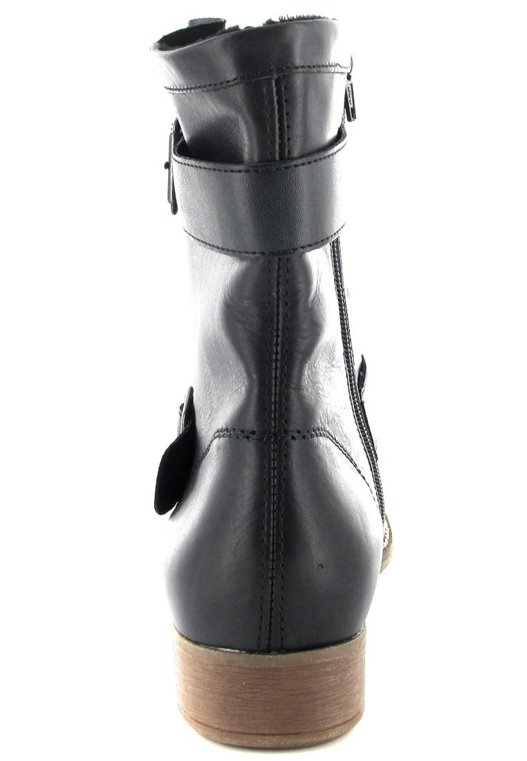SALE - REMONTE - Damen Stiefeletten - Schwarz Schuhe in Übergrößen – Bild 2