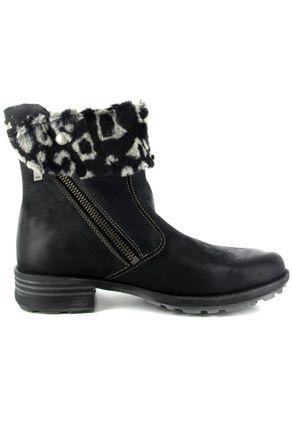SALE - JOSEF SEIBEL - Sandra 15 - Damen Stiefeletten - Schwarz Schuhe in Übergrößen – Bild 6