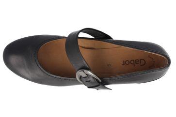 GABOR - Damen Spangenpumps - Schwarz Schuhe in Übergrößen – Bild 4