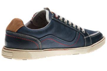 Mustang Shoes Sneaker in Übergrößen Blau 4073-302-800 große Herrenschuhe – Bild 3