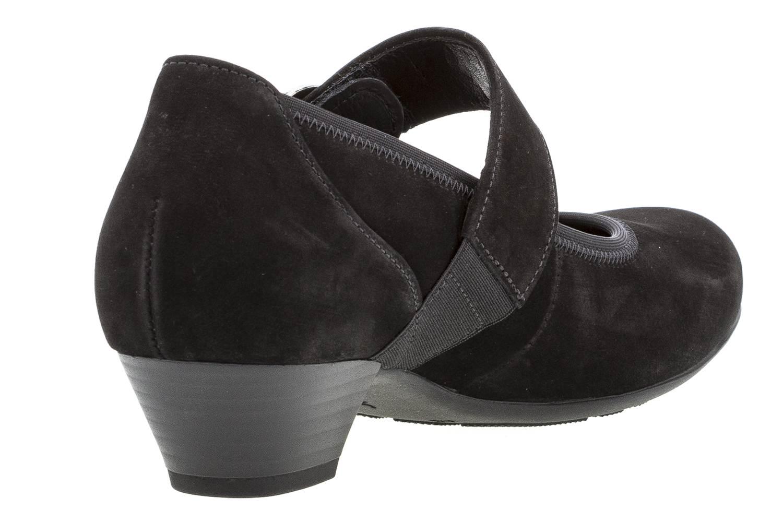 Gabor Comfort Basic Trotteur in Übergrößen Schwarz 06.139.47 große Damenschuhe – Bild 3