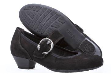 Gabor Comfort Basic Trotteur in Übergrößen Schwarz 06.139.47 große Damenschuhe – Bild 6