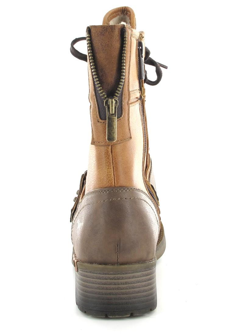Mustang Shoes Boots in Übergrößen Braun 1138-605-307 große Damenschuhe – Bild 2