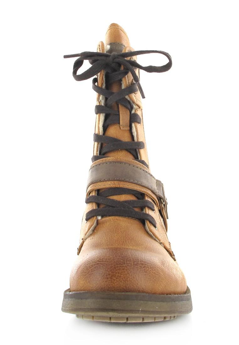 Mustang Shoes Boots in Übergrößen Braun 1138-605-307 große Damenschuhe – Bild 4