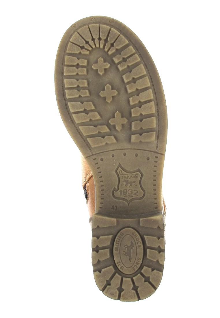 Mustang Shoes Boots in Übergrößen Braun 1138-605-307 große Damenschuhe – Bild 3