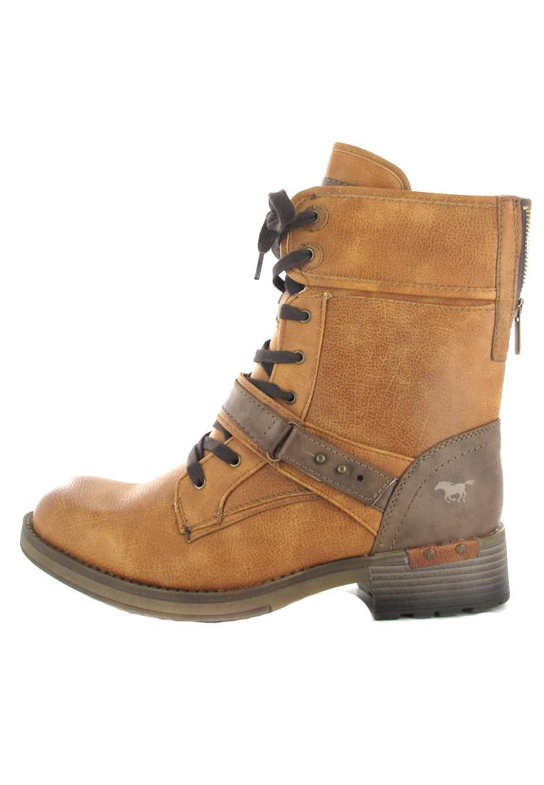 Mustang Shoes Boots in Übergrößen Braun 1138-605-307 große Damenschuhe – Bild 5