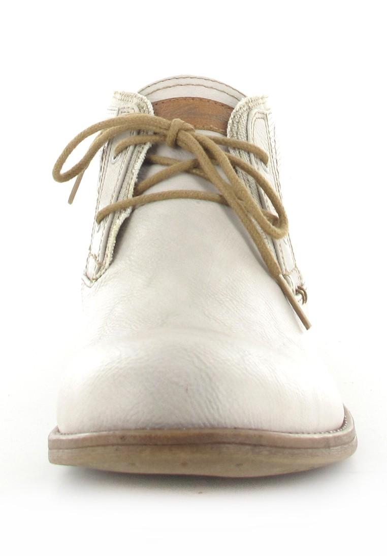Mustang Shoes Boots in Übergrößen Weiß 1157-501-203 große Damenschuhe – Bild 4