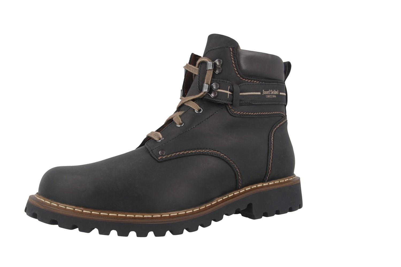JOSEF SEIBEL - Adelboden - Herren Boots - Schwarz Schuhe in Übergrößen – Bild 1