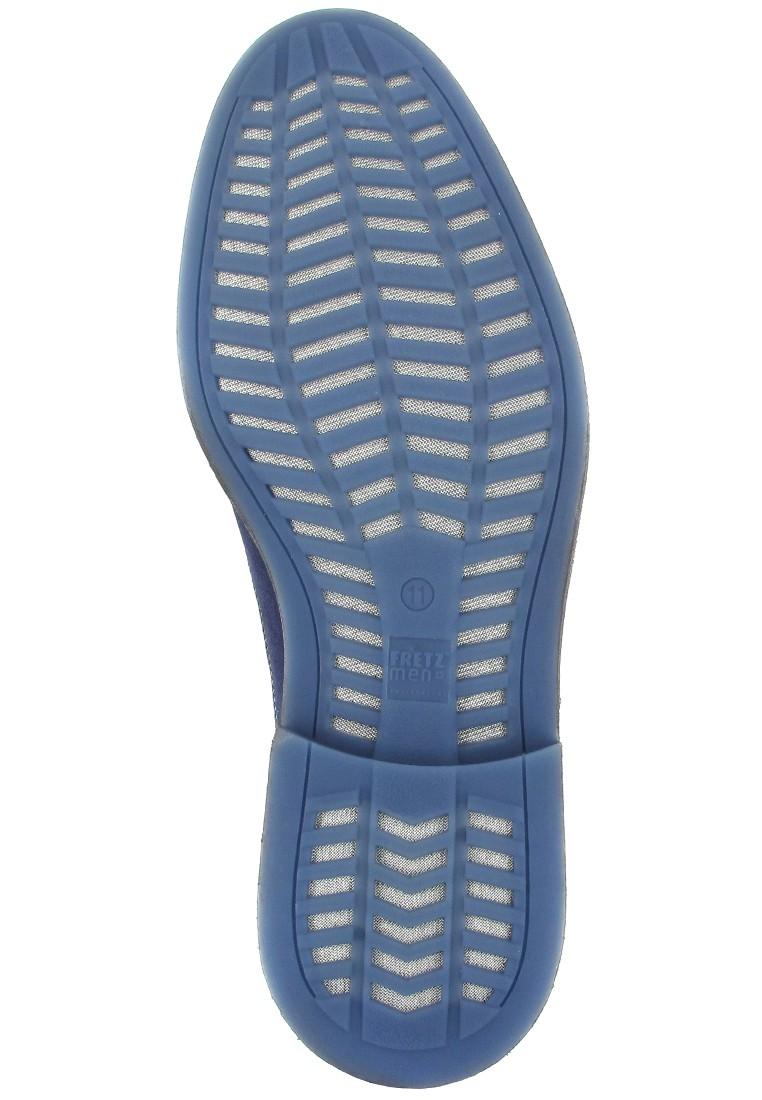 FRETZ MEN - Locarno - Herren Business Schuhe - Blau Schuhe in Übergrößen – Bild 3